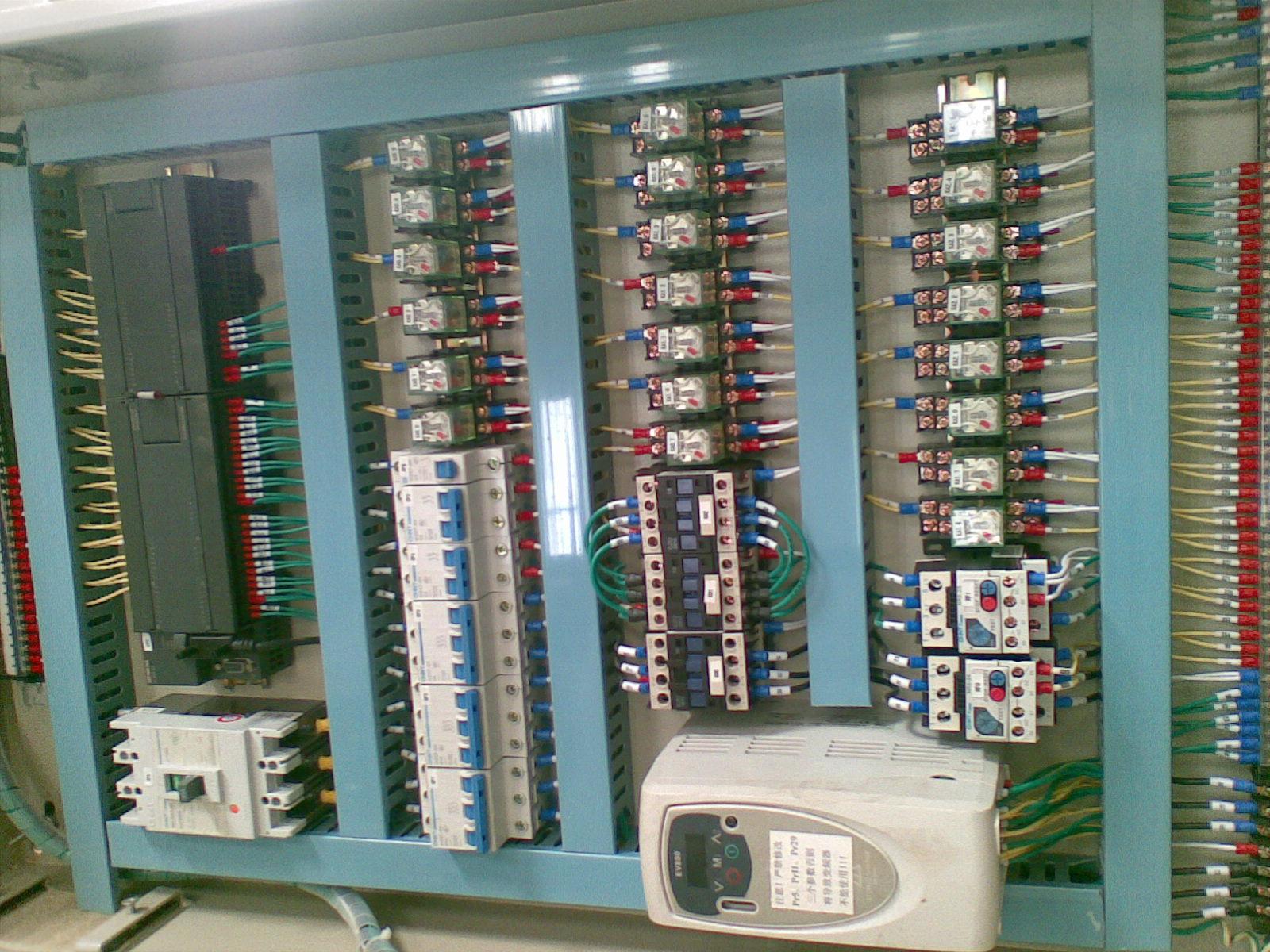 电气控制柜接线图控制柜-中华