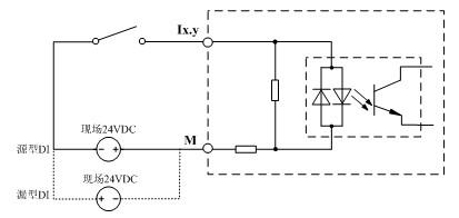 lm3210输入通道(di)等效电路图