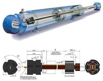 ps6300磁环非接触电阻油缸行程位置传感器-供求信息图片