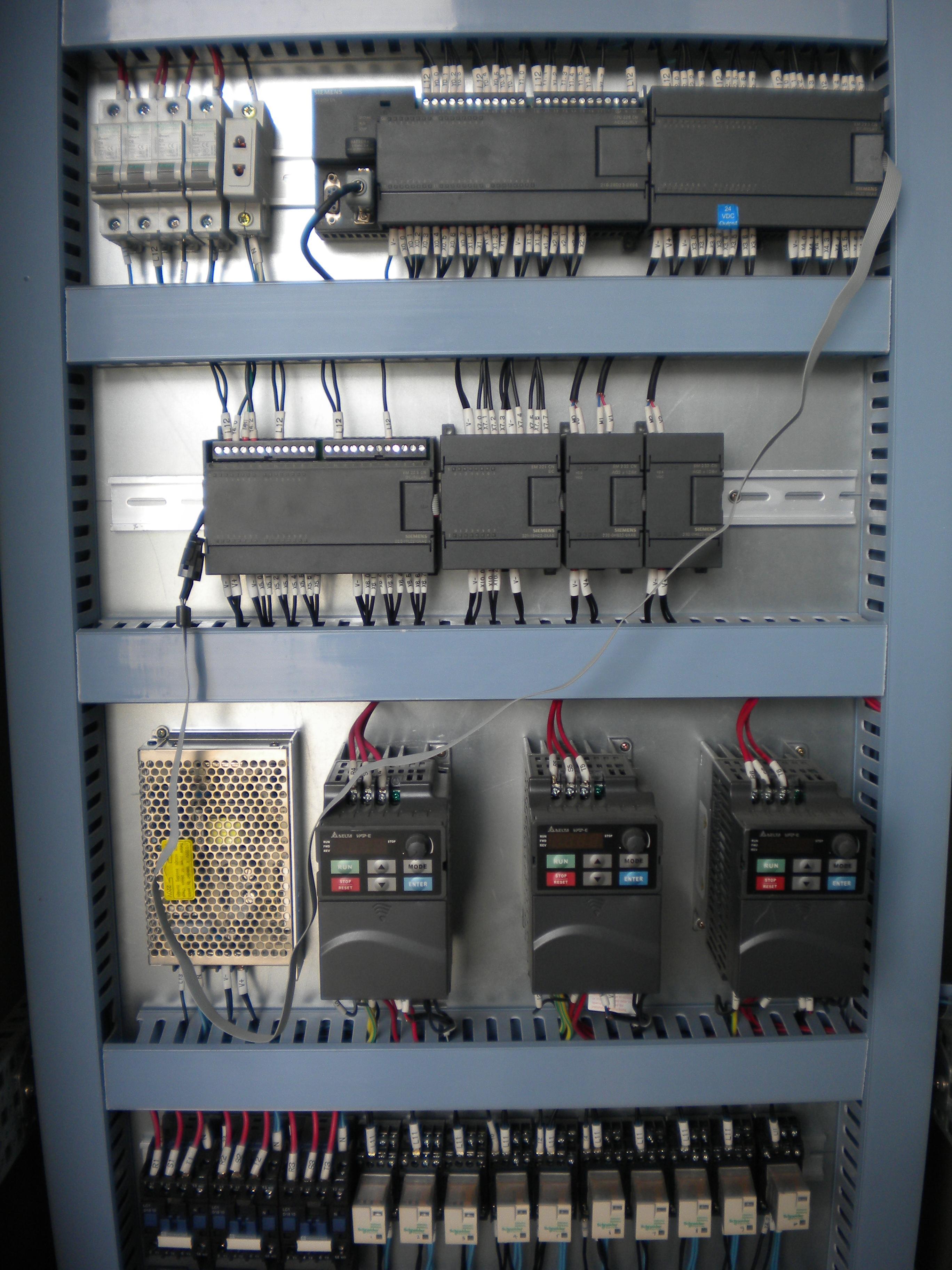 自动化生产线安装与调试接线图