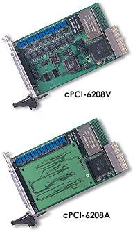 ADLINK cPCI-6208 系列 CompactPCI 8通道模拟量输出卡