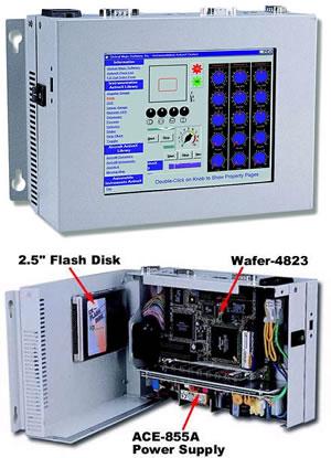 "IEI威达电 PPC-5010 6.4""TFT LCD工业平板电脑"