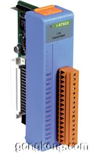 泓格ICPDAS I-87022 87K模拟量输出模块