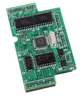 泓格ICPDAS X507 RS-232扩展板