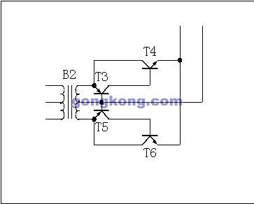 电流互感器付边采用共基极放大电路作为解调放大器